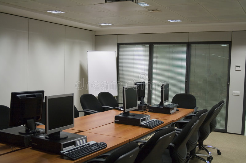 Download Computer room stock image. Image of computers, isolated - 1502275