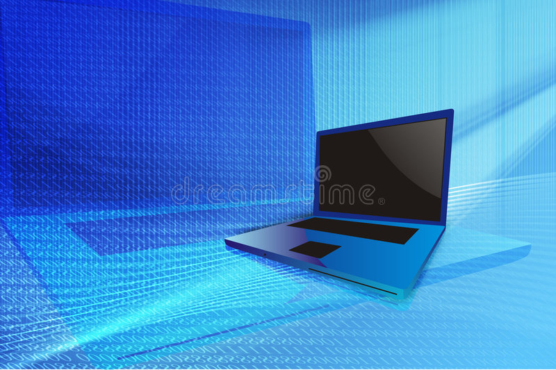 Computer security stock illustration
