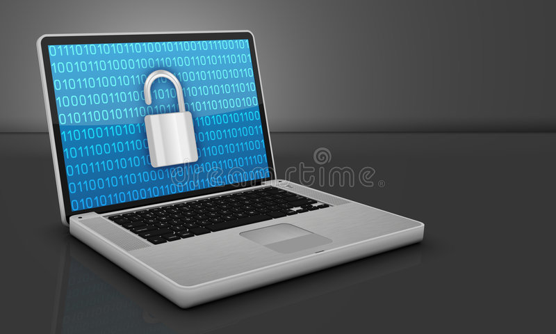 Download Computer Security stock illustration. Illustration of network - 8204739
