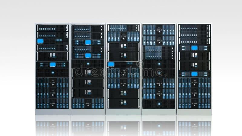 Computer-Server-Kabinett lizenzfreie stockfotos