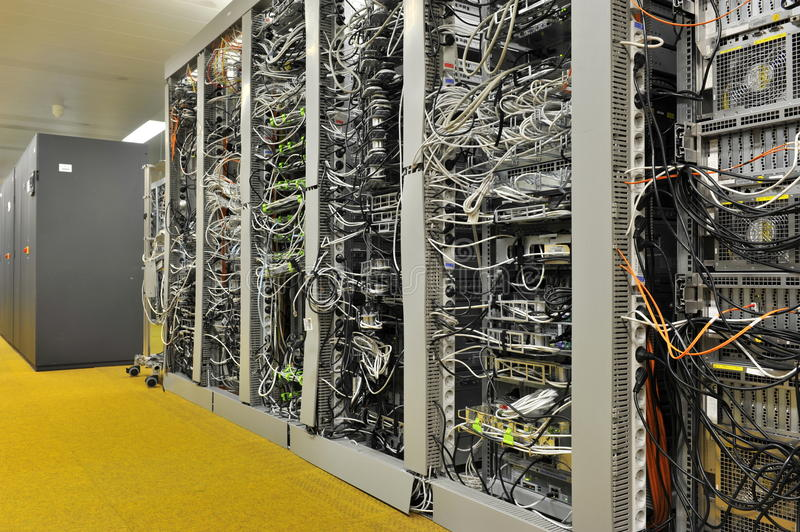 Download Computer Servers stock image. Image of hosting, technology - 21791779