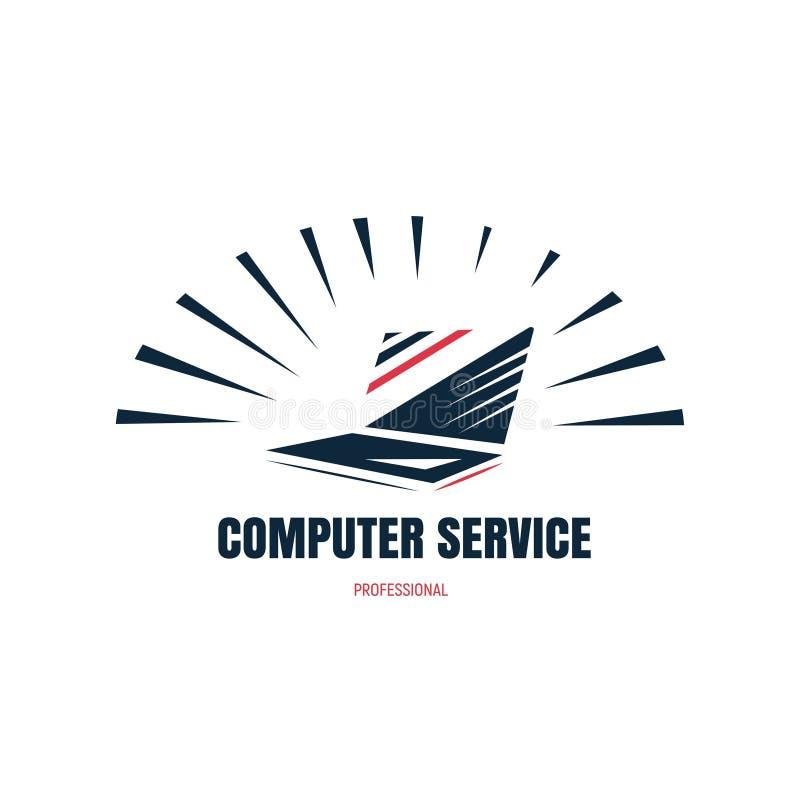 Computer service stock illustration