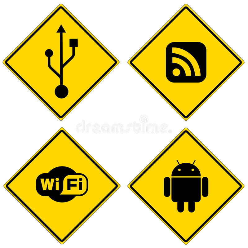 Download Computer Signs Stock Photos - Image: 18163913