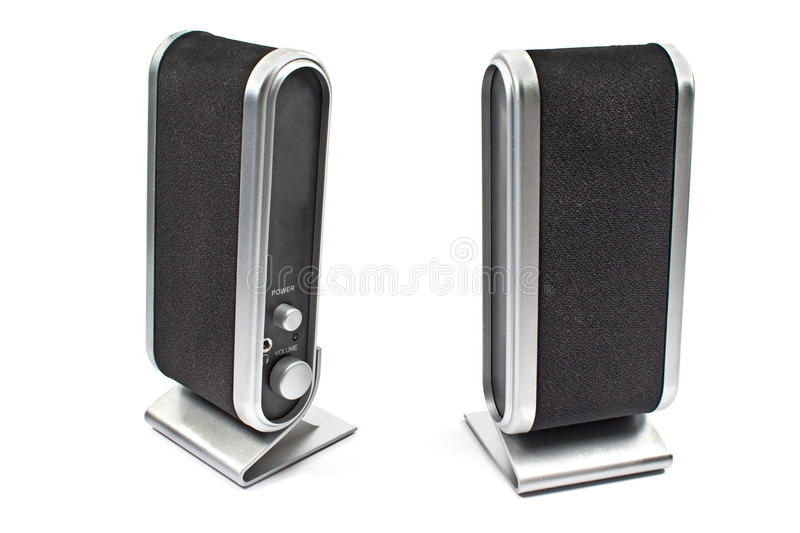 Computer speaker stock photography