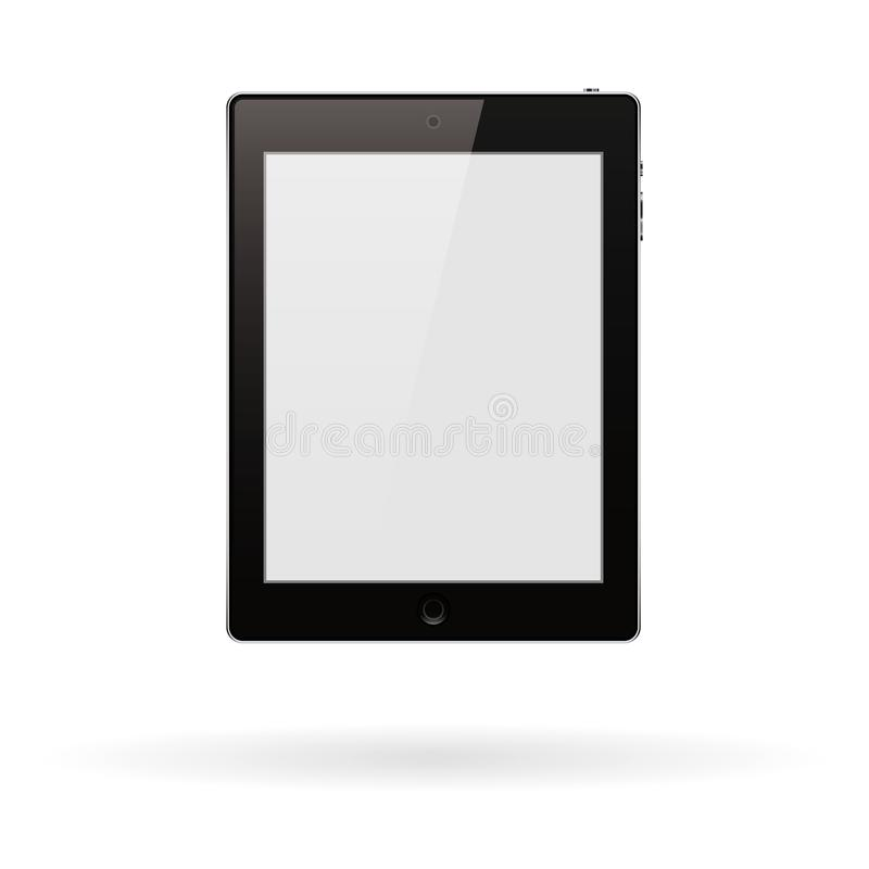 Computer tablet PC vector illustration