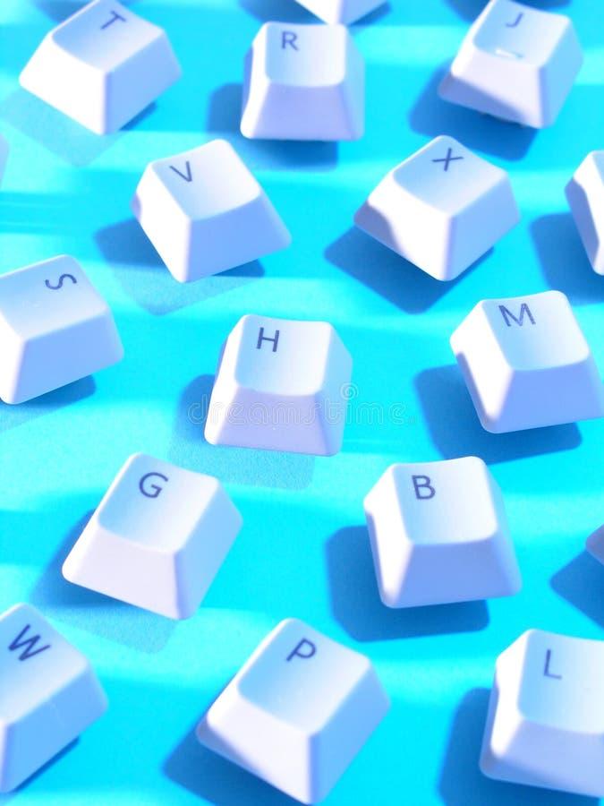 Computer-Tasten lizenzfreie abbildung