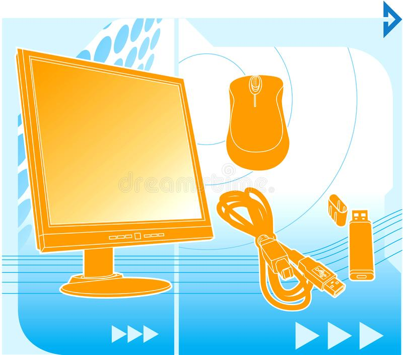 Computer technology stock image
