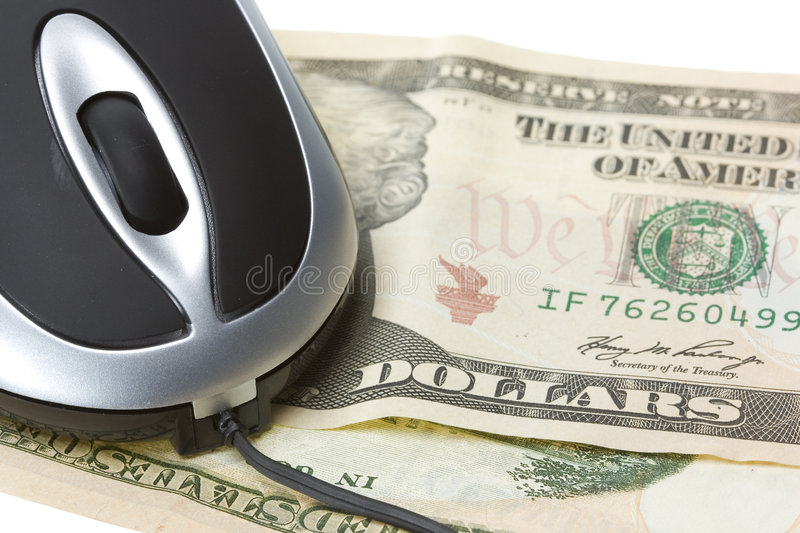 Download Computer technology mouse stock image. Image of dollars - 8009301