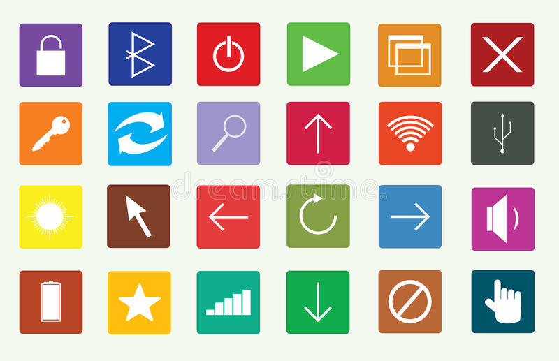 Computer tools royalty free stock photos