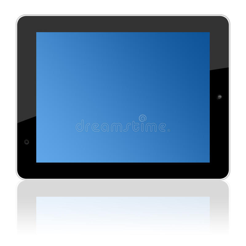Download Computer Touchscreen Tablet Pc In Landscape Stock Images - Image: 25668394