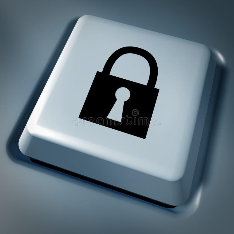 Computer- und Internet-Sicherheit vektor abbildung