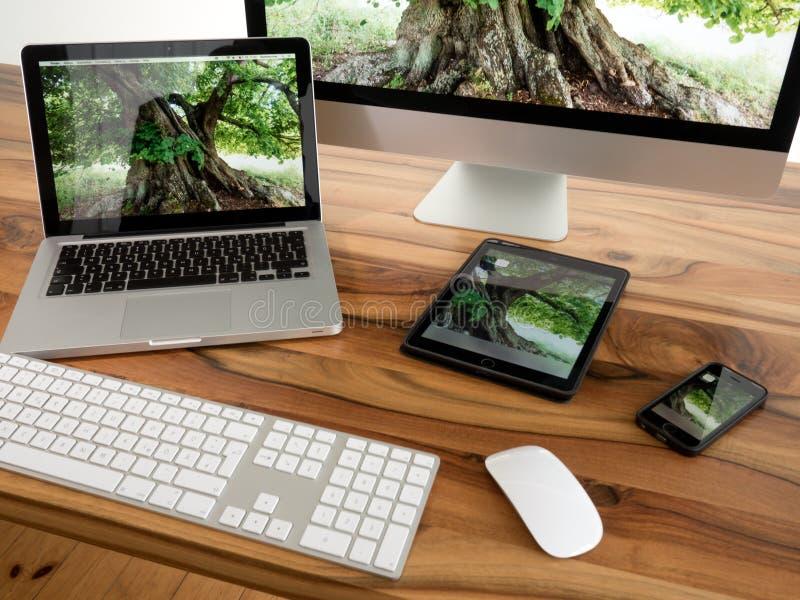 Computer und Tablette