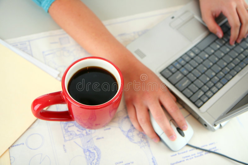 Computer User Royalty Free Stock Photography