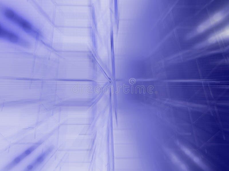 Computer Verbeterde Foto - Samenvatting stock illustratie