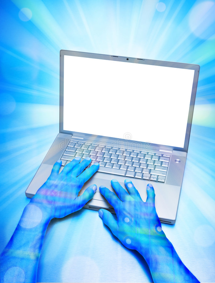 Computer Virtual Programmer Technology royalty free stock photos