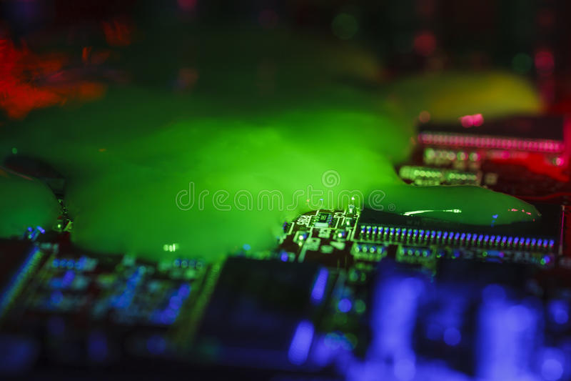 Computer-Virus lizenzfreie stockfotos