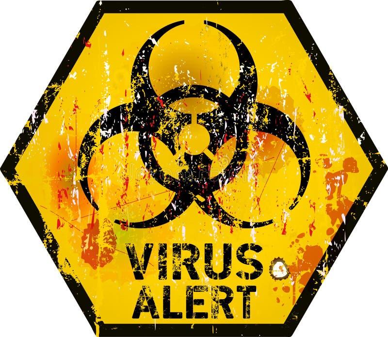 Computer virus stock illustration