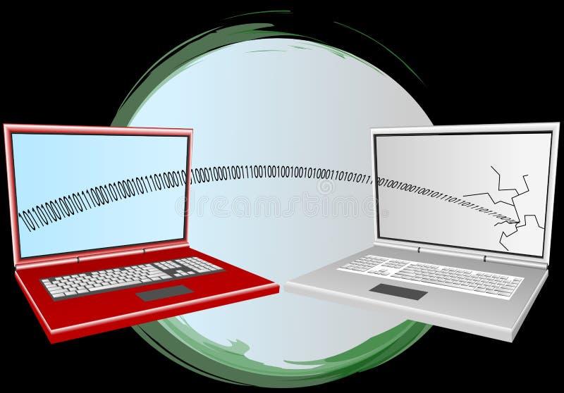 Computer viruses vector illustration