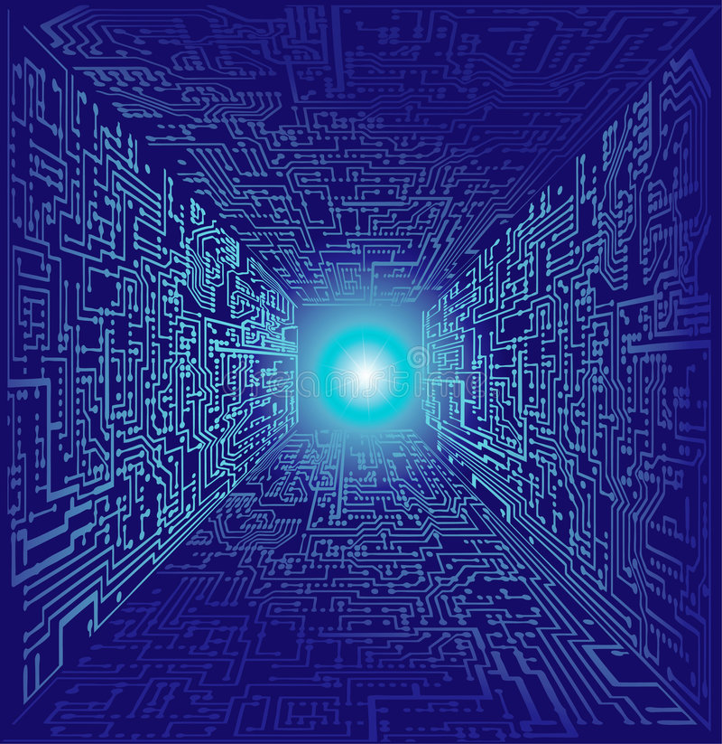 Free Computer World Stock Image - 4342391