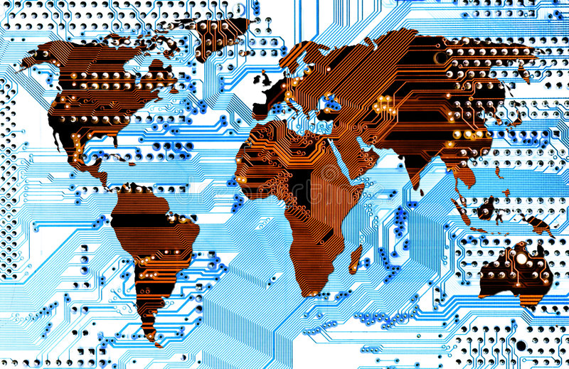 Download Computer World - Connectivity Stock Illustration - Image: 5277287