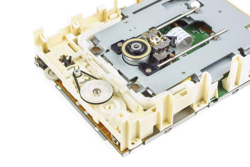 Computercd-rom-laufwerk baute 03 auseinander lizenzfreie stockfotografie