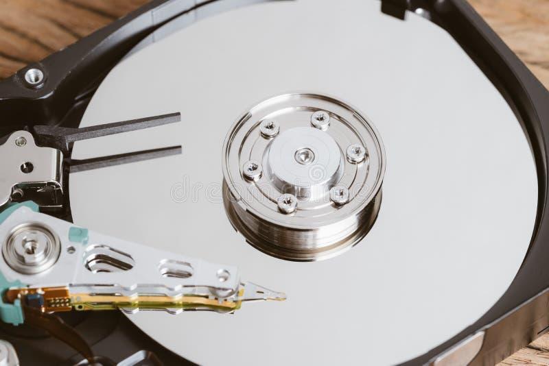 Computercompartiment, IT veiligheidszaken of groot gegevensconcept, stock afbeeldingen