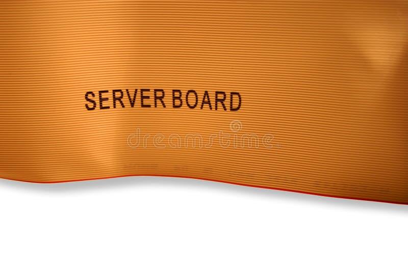 Computerdrahtbeschaffenheit mit Beschriftung, III lizenzfreies stockbild