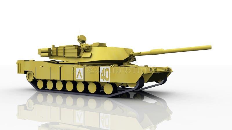 Abrams Behälter stock abbildung