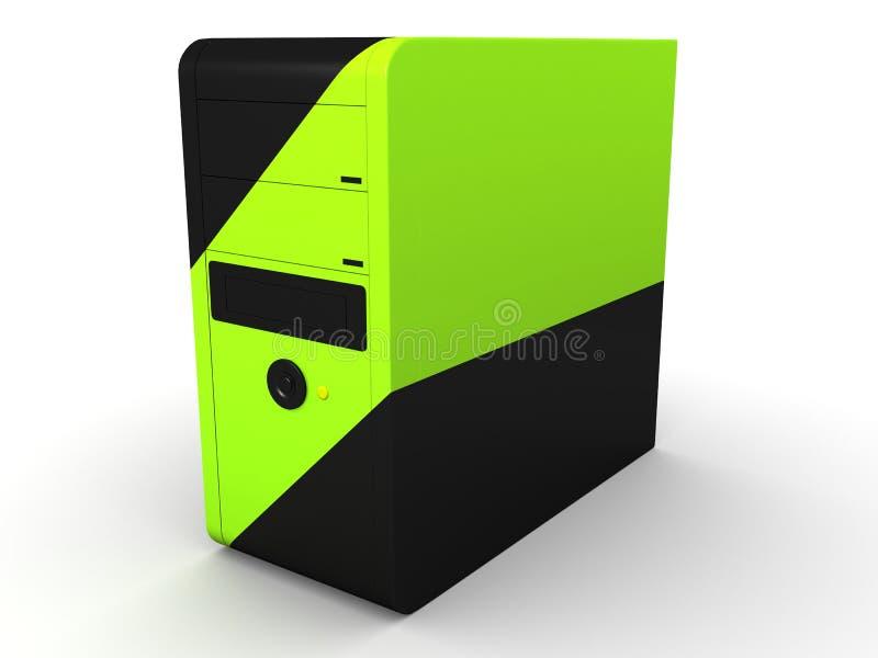 Computerkontrollturm lizenzfreie abbildung
