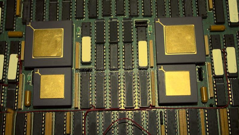 Computermotherboard stockbilder