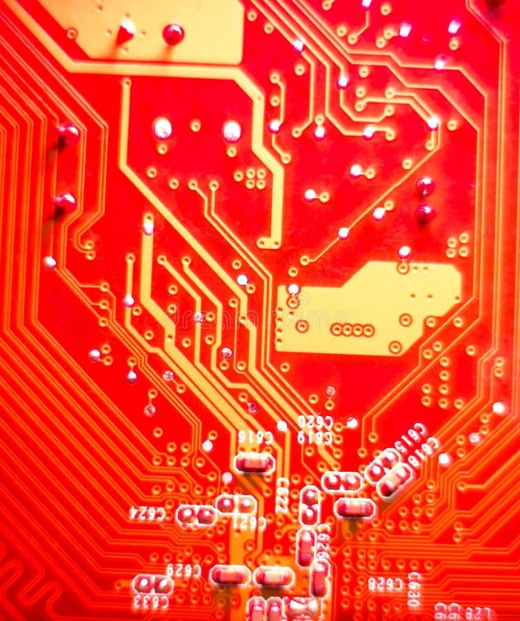 Computermotherboard royalty-vrije stock foto