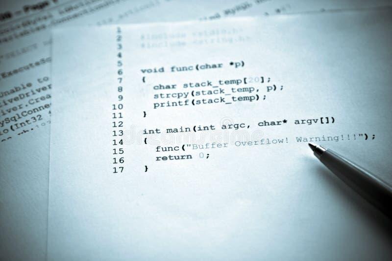 Computerprogrammierung lizenzfreies stockfoto
