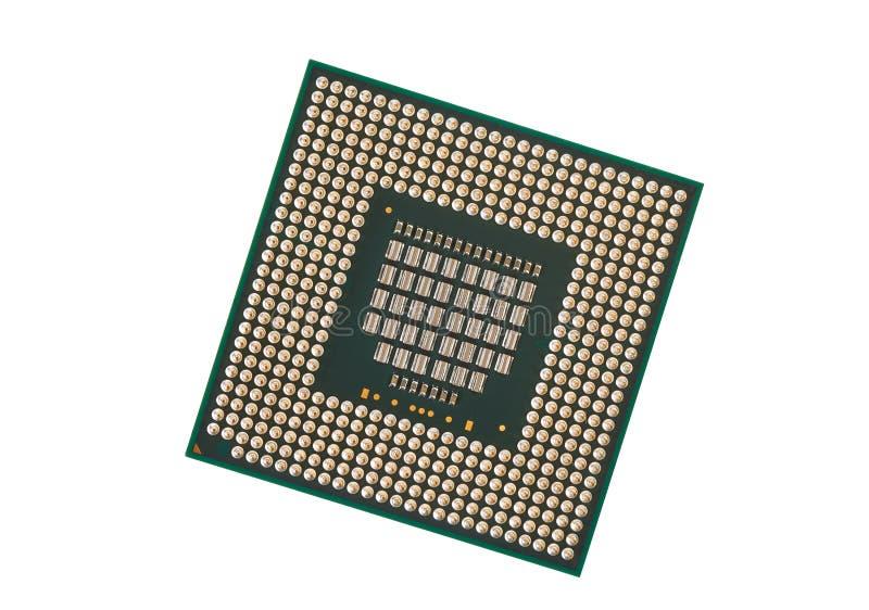 Computerprozessornahaufnahme lizenzfreie stockfotos