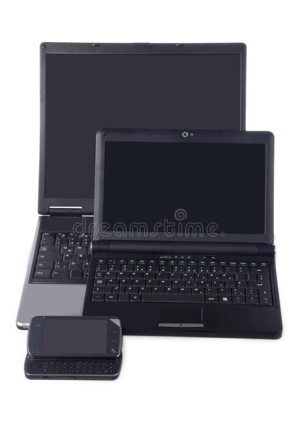 Computers stock foto