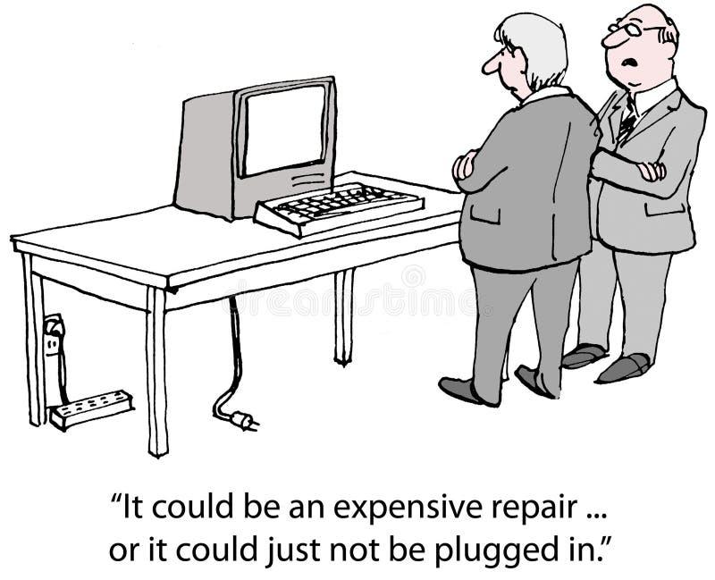Computers royalty-vrije illustratie