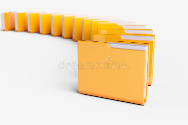 Download Computers folders stack stock illustration. Illustration of object - 105241610