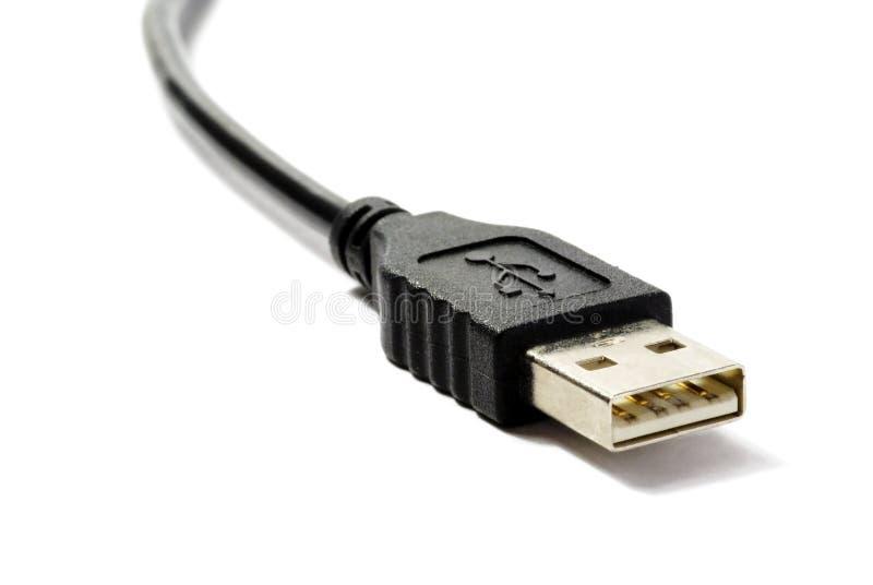 Computerseilzüge mit Verbinder stockbild