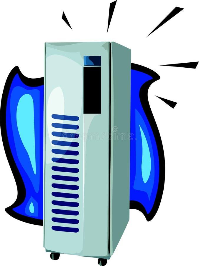 Computerserver lizenzfreie abbildung