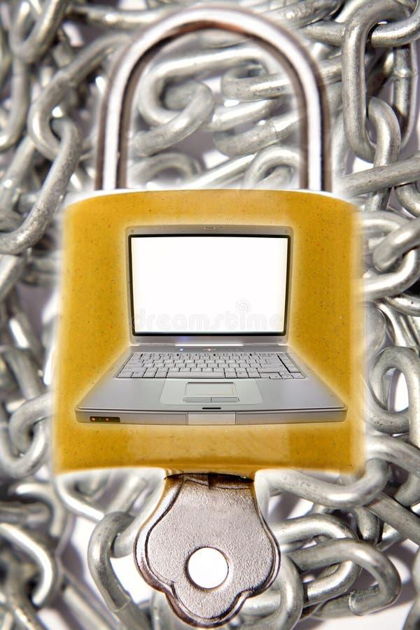 Computersicherheit lizenzfreie stockfotos