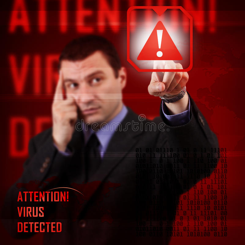 Computersicherheitskonzept vektor abbildung