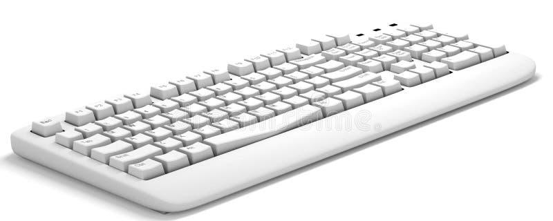 Computertastatur stock abbildung