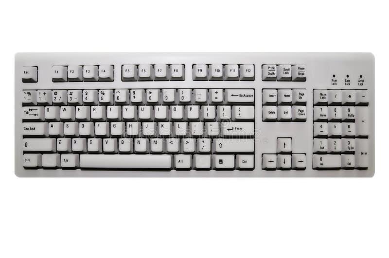 Computertastatur lizenzfreie stockfotografie