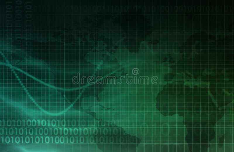 Computertechnologie stock illustratie