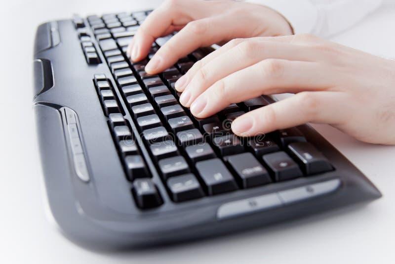 Computertoetsenbord stock foto