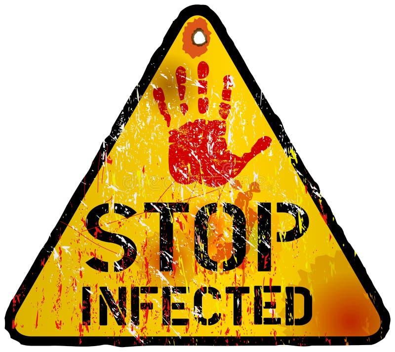Computervirus stock illustratie