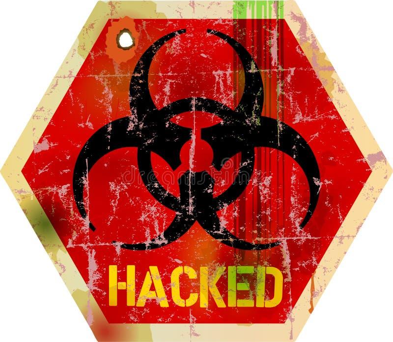 Computervirus lizenzfreie abbildung