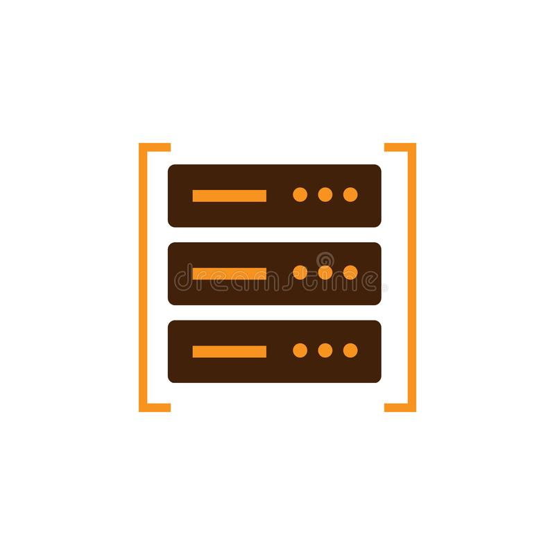 Computing, data center icon. Element of Web Optimization icon for mobile concept and web apps. Detailed Computing, data center. Icon can be used for web and royalty free illustration