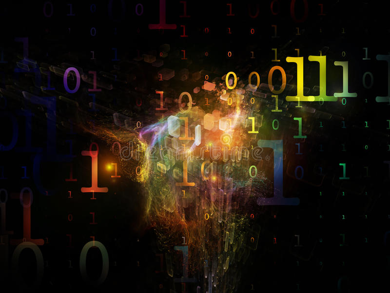 Computing Numbers stock images