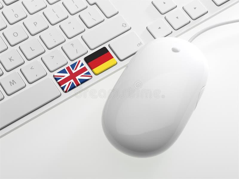 Computor klawiatura obraz stock