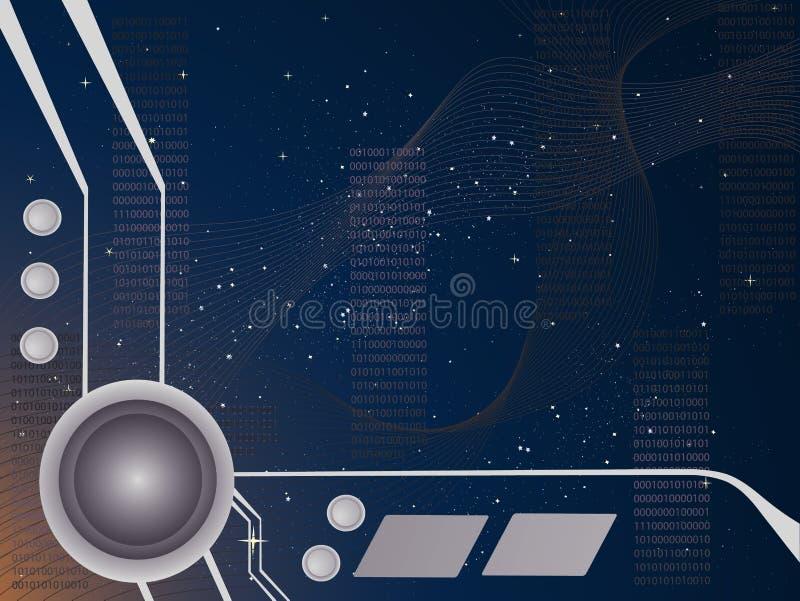 Computorium ilustração do vetor